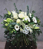 The Elegant White Hantied Bouquet