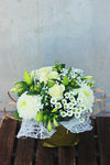 Pearly White Artisan Bouquet