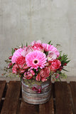 Blushing Pink Vase Arrangement