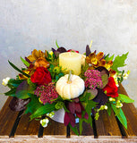 Around the Table Thanksgiving Centrepiece Design Arrangement