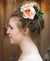 Large Garden Rose Hair Bun Adornment Headpiece