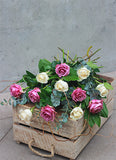Mixed Rose Presentation Bouquet