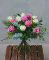 Mixed Rose Handtied Bouquet