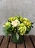 Emerald Green Vase Arrangement