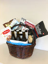 Beer & Snacks Gift Basket for Dad