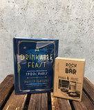 A Drinkable Feast Book and Whisky Stones Father's Day Gift