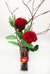 Love Birds Everlasting Preserved Rose Bud Vase