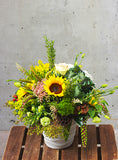 Harvest Garden Design Arrangement