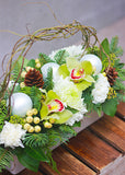 Snowy White Design Arrangement