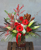 Christmas Elegance Vase Arrangement