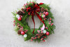 Cheerful Christmas Outdoor Wreath 16""