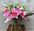 Lilies in Bloom Handtied Bouquet