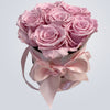 Love of a Lifetime Preserved Rose Hat Box - Small