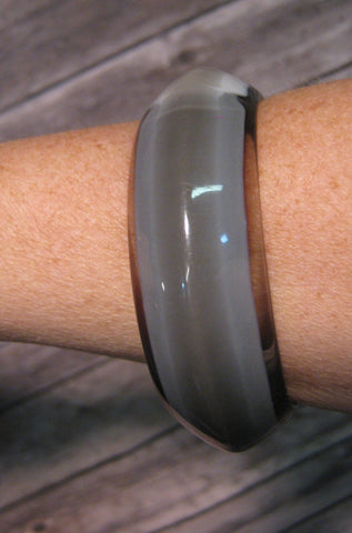Gray Multi Tone Bangle
