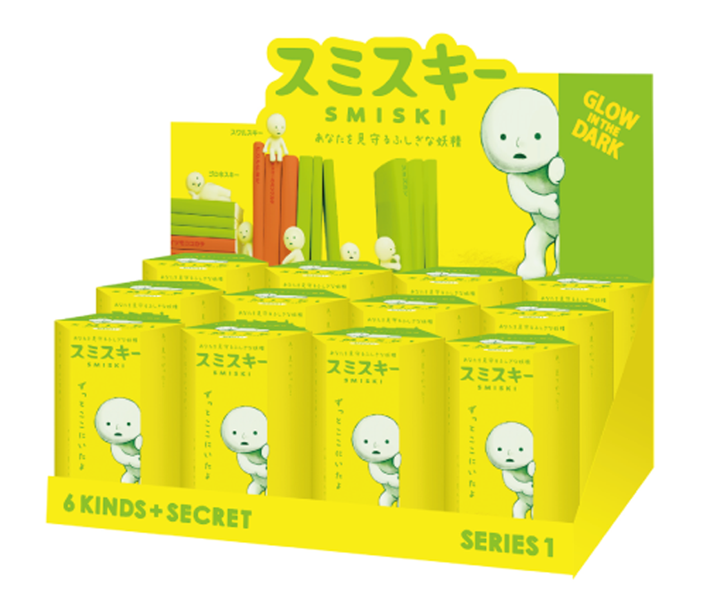 Dreams Smiski Glow in the Dark Figure, Series 1, Random Styles, 12 Pack