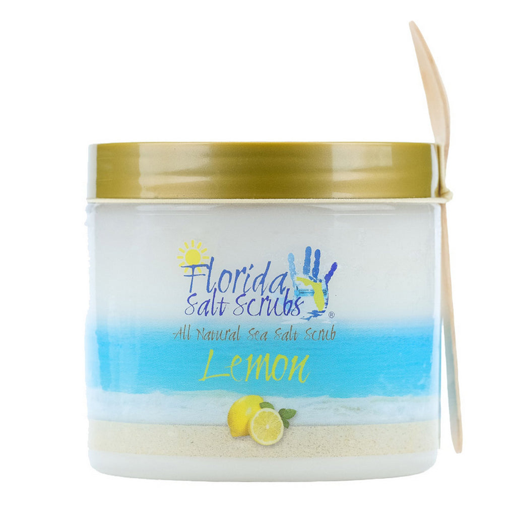 Florida Salt Scrubs, 24.2 Ounce, Lemon