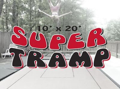 Super Tramp 10x20 Trampoline Package