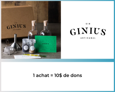 Ginius - GinKit Ensemble complet