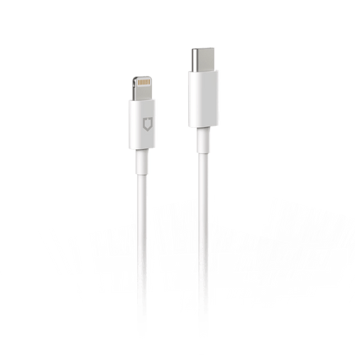 Cable RhinoShield de Lightning a USB-C de 1m