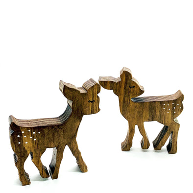 Wood Bebe Deer Set