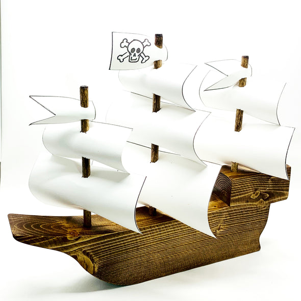 Little Adventures | Wooden Pirate Ship