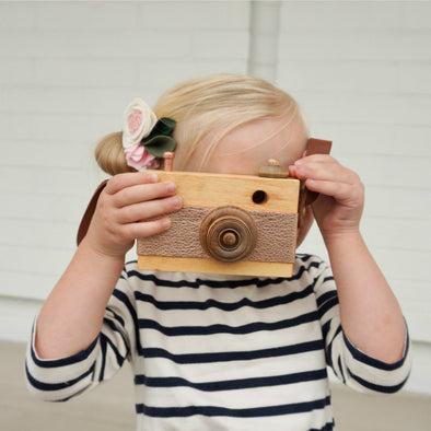 Wood Toy Camera - PREORDER