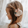Felt Flower Headband | Sweet Creme Garden Rose