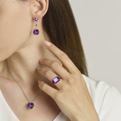 Amethyst Very PC® Earrings, Petite - Paolo Costagli