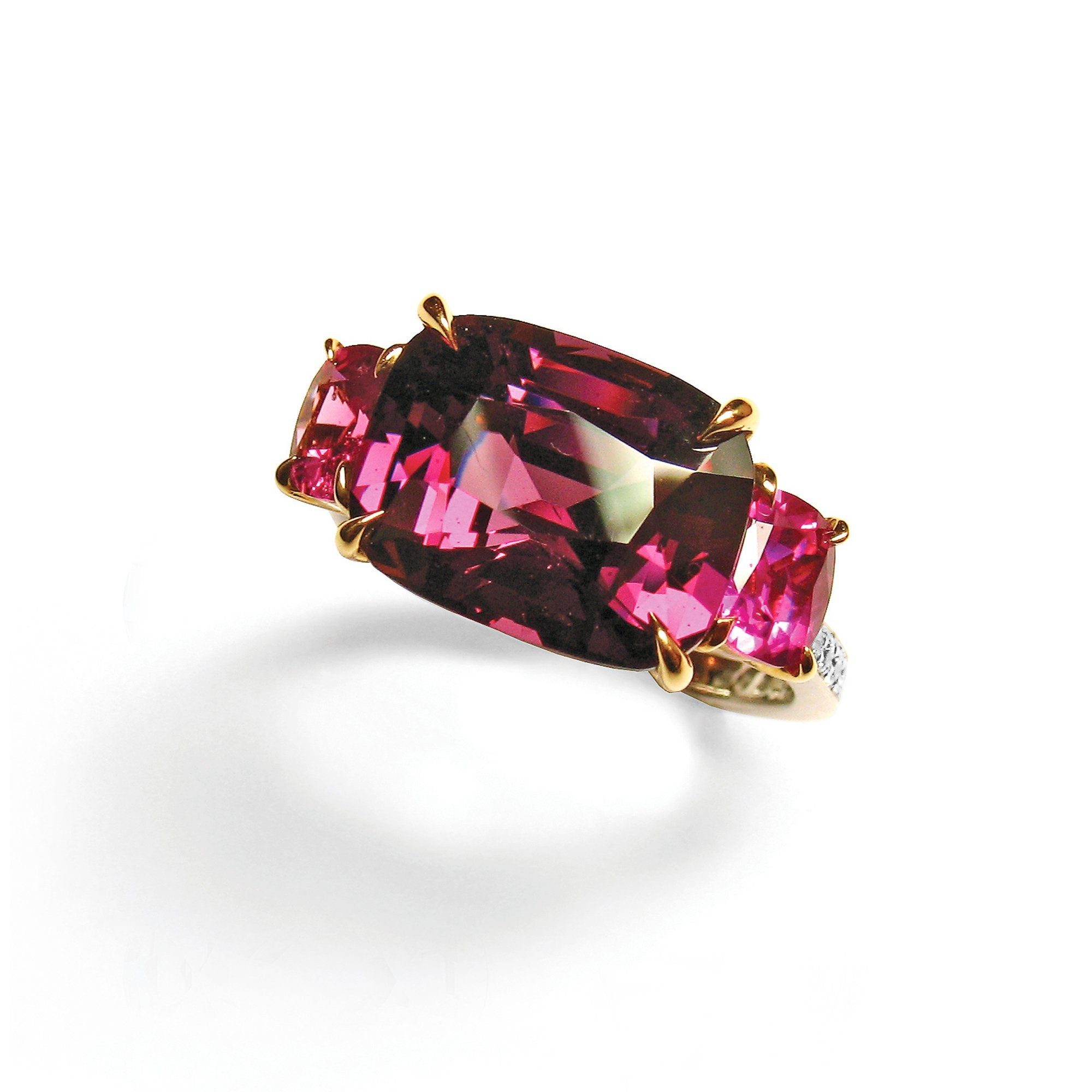 Garnet and Pink Sapphire Ring - Paolo Costagli