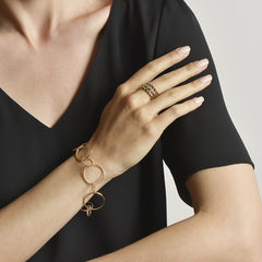 Stackable Rose Gold Brillante® Band, Petite - Paolo Costagli