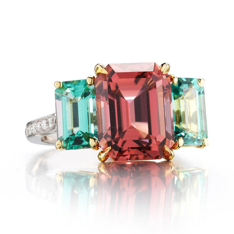 Unique Tourmaline Ring