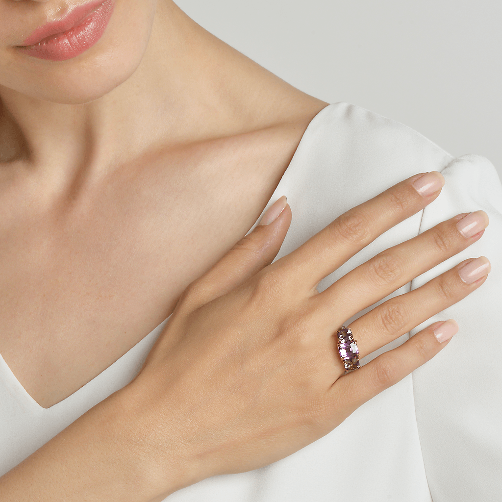 Unheated Pink Sapphire and Spinel Ring - Paolo Costagli - 2