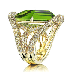 Peridot 'Valentina' Cocktail Ring - Paolo Costagli - 1