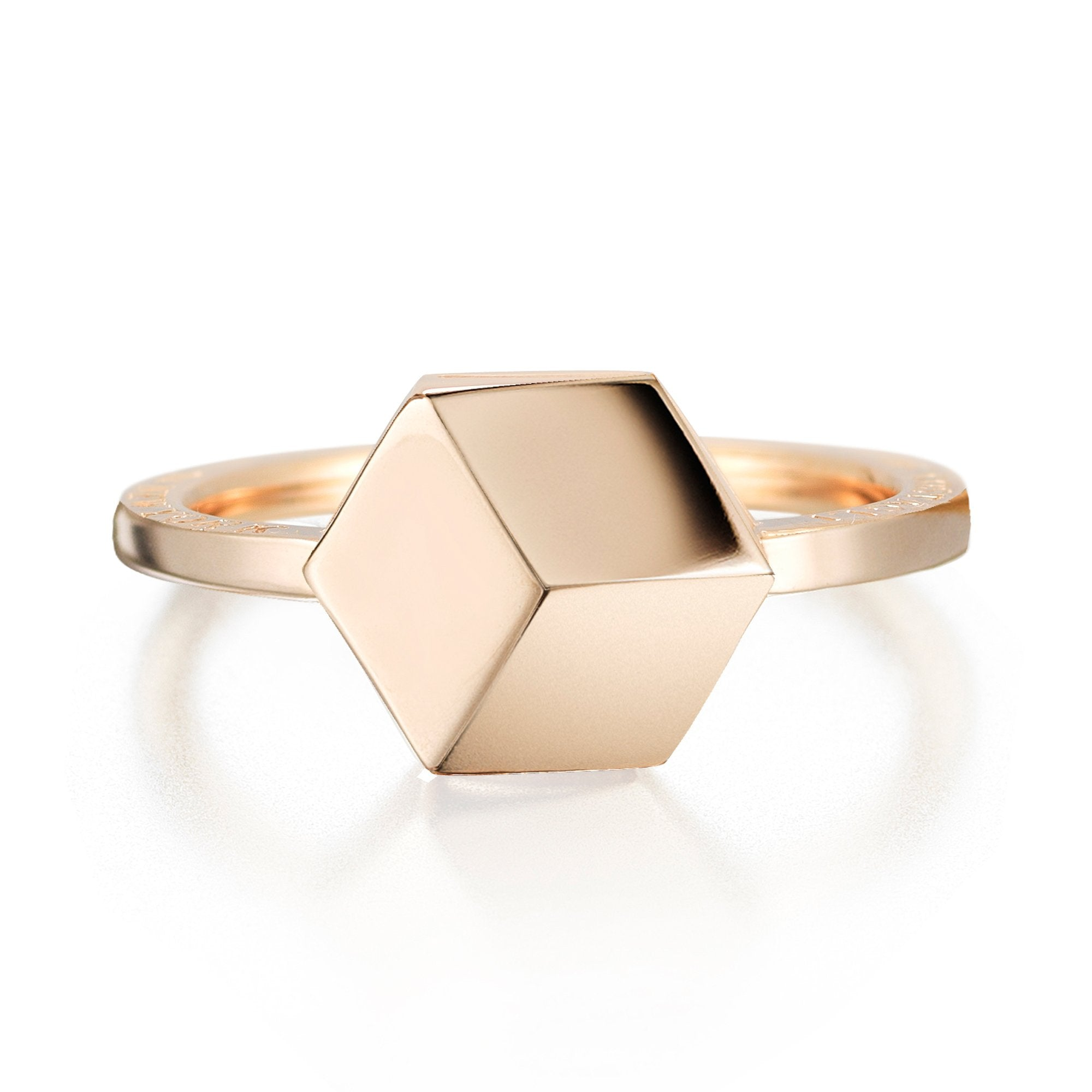 Rose Gold 'Brillante®' Ring, Petite - Paolo Costagli - 1