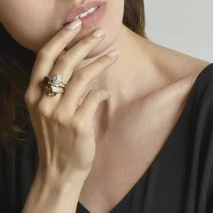 Lemon Citrine Brillante® Valentina Ring, petite - Paolo Costagli