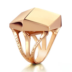 Rose Gold Brillante® Cocktail Ring - Paolo Costagli