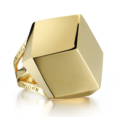 Yellow Gold Brillante® Cocktail Ring - Paolo Costagli