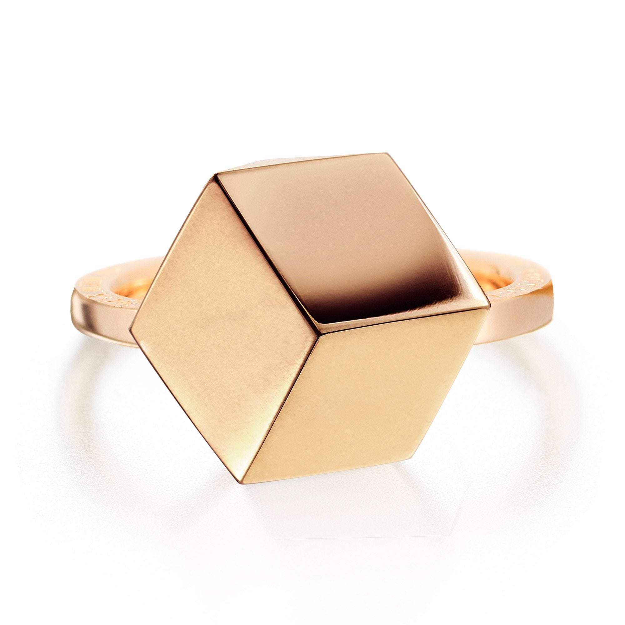 Rose Gold 'Brillante®' Ring, Medium - Paolo Costagli - 1