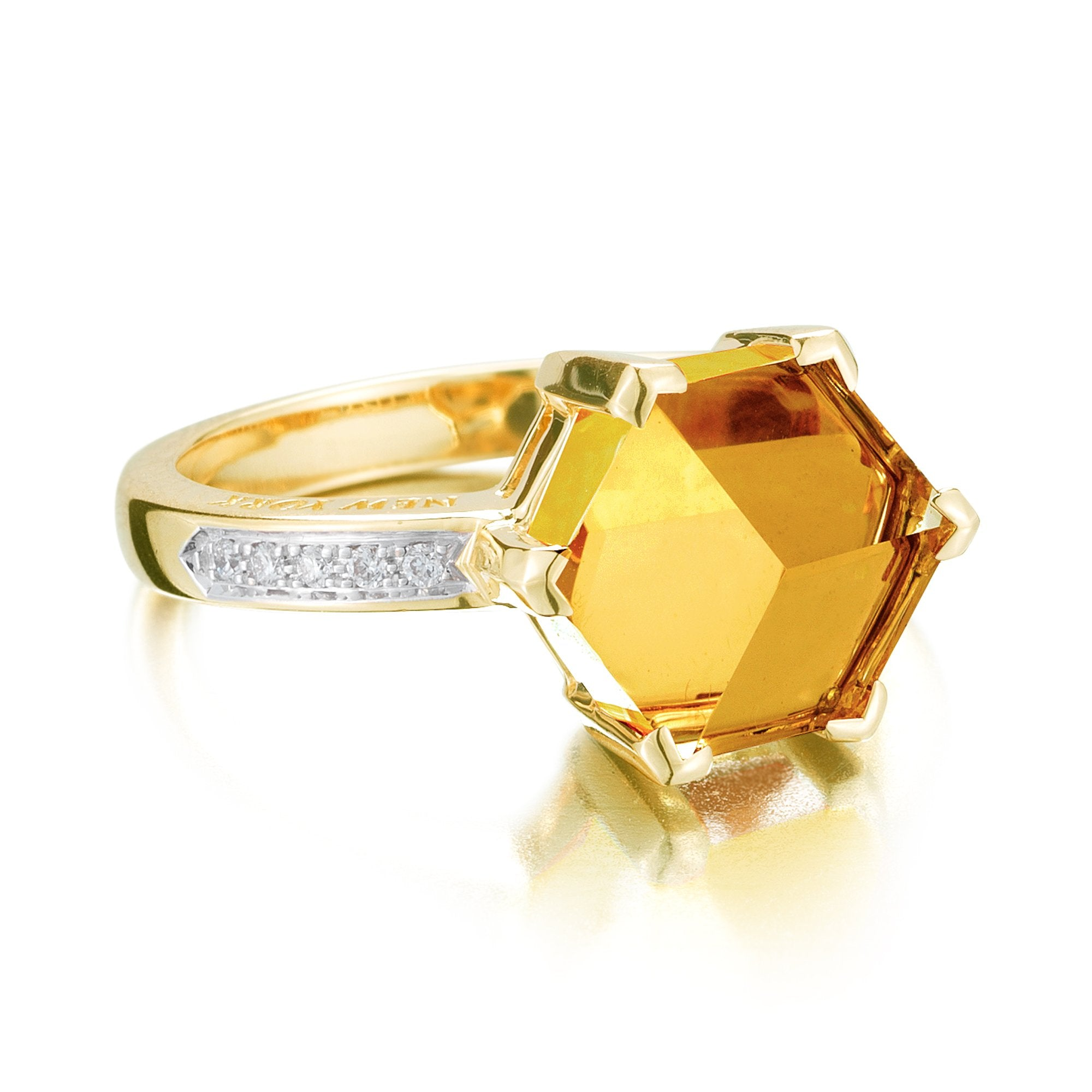 Citrine and Diamond - Paolo Costagli