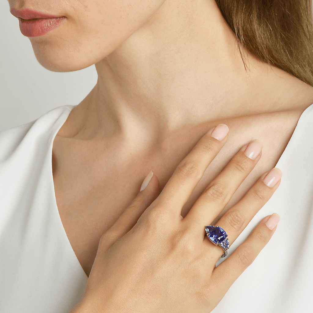 Tanzanite and Blue Spinel Ring - Paolo Costagli - 2