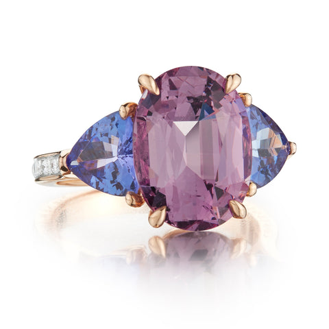 Spinel and Tanzanite Ring - Paolo Costagli