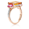 Citrine and Pink Sapphire Florentine Ring - Paolo Costagli