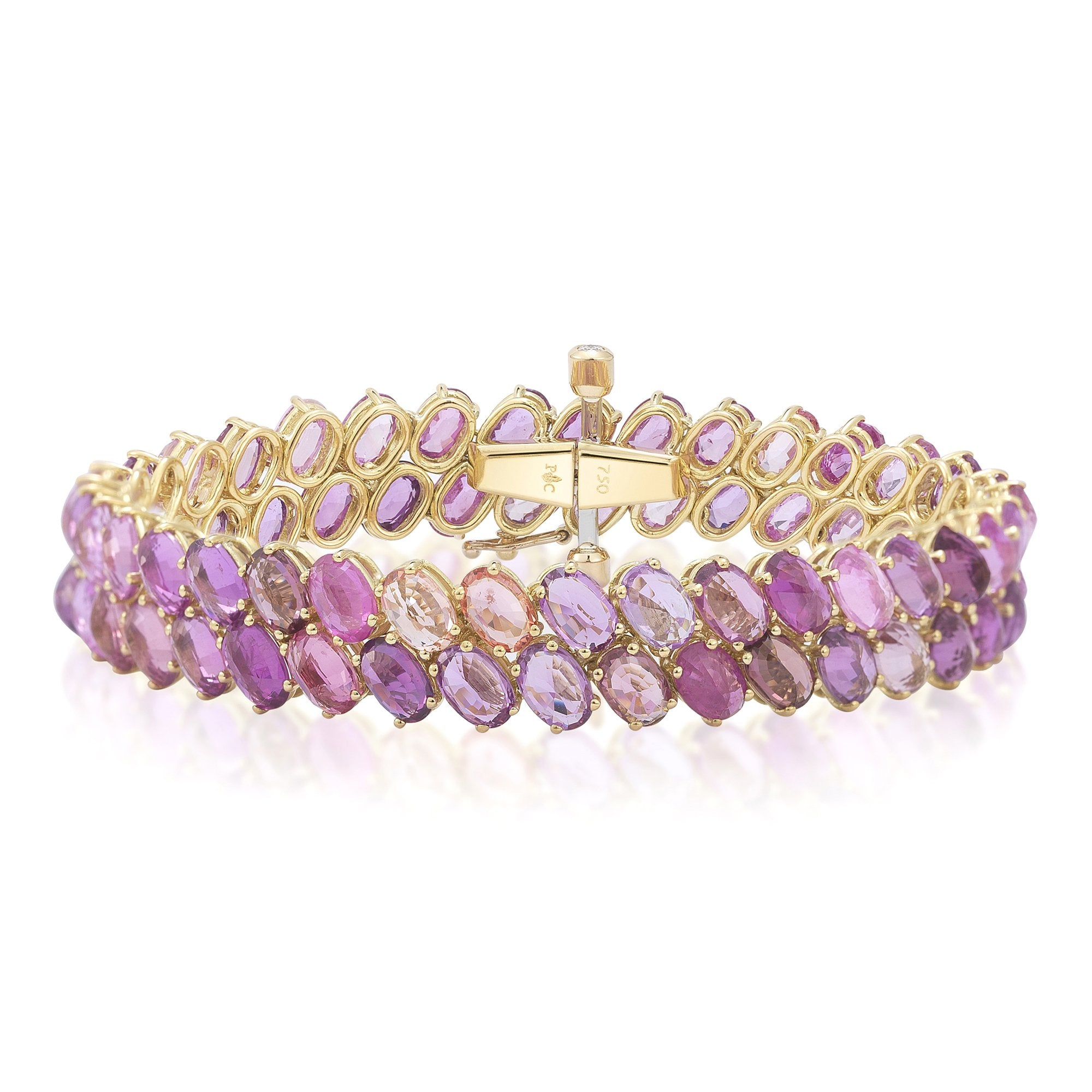 Pink Sapphire 'Ombre' Bracelet - Paolo Costagli - 1