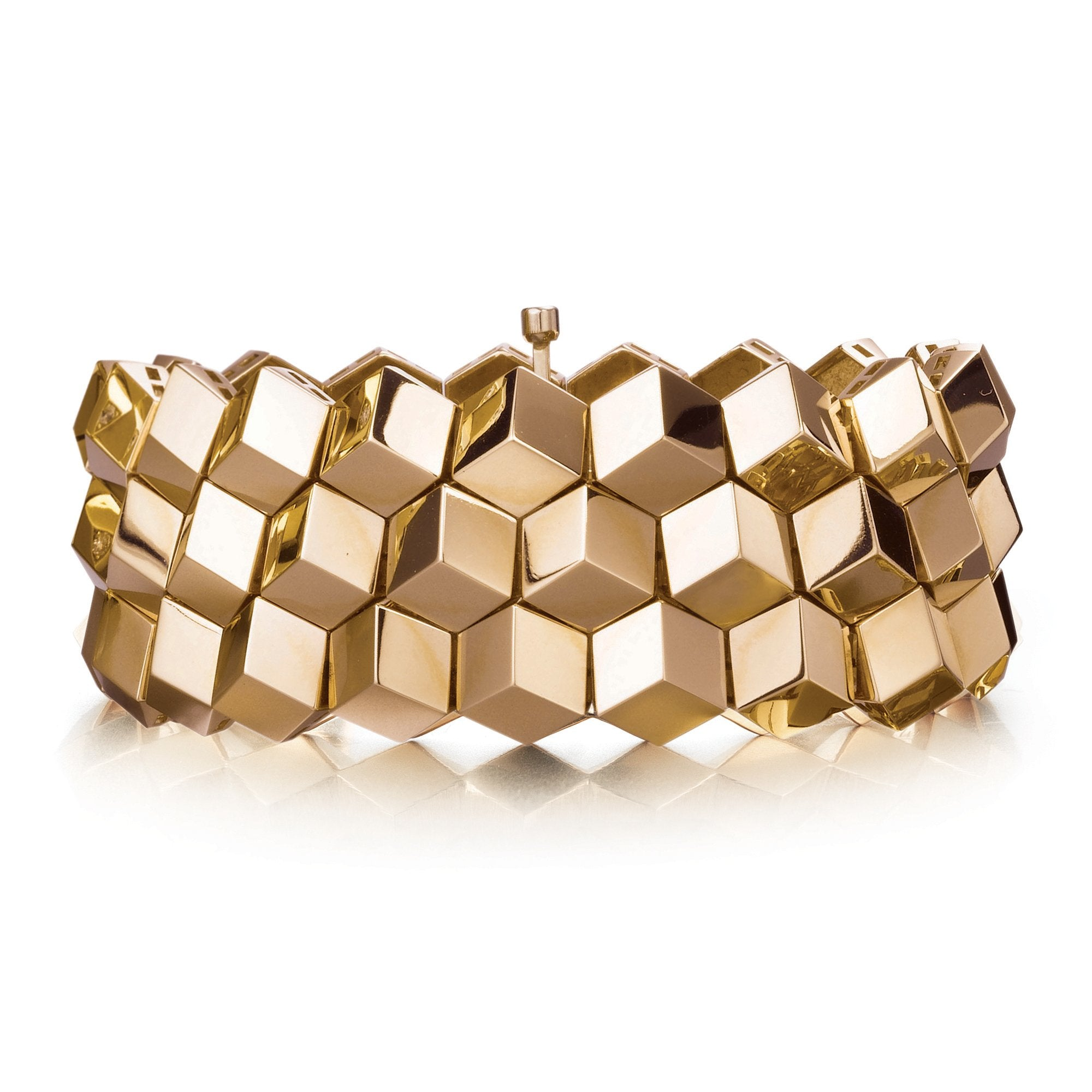Rose Gold 'Brillante®' Bracelet, Medium - Paolo Costagli - 1
