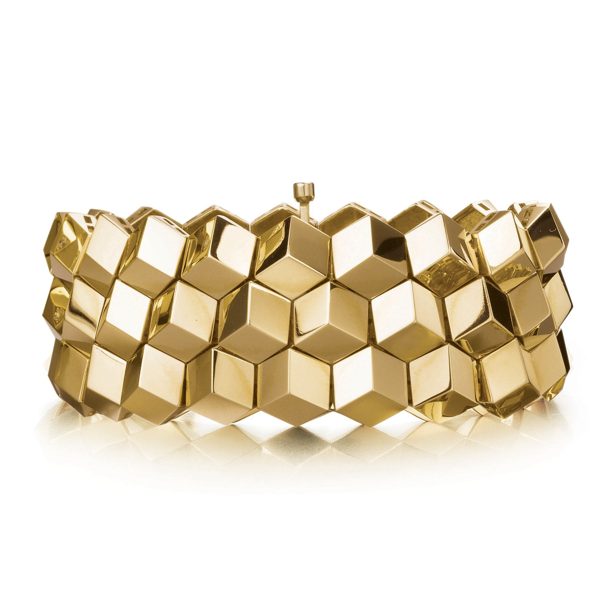 Yellow Gold 'Brillante®' Bracelet, Medium - Paolo Costagli - 1