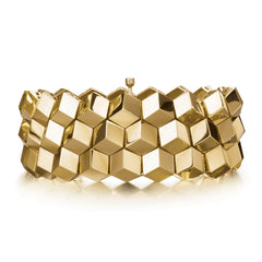 18kt Yellow Gold Brillante® Bracelet, Medium - Paolo Costagli