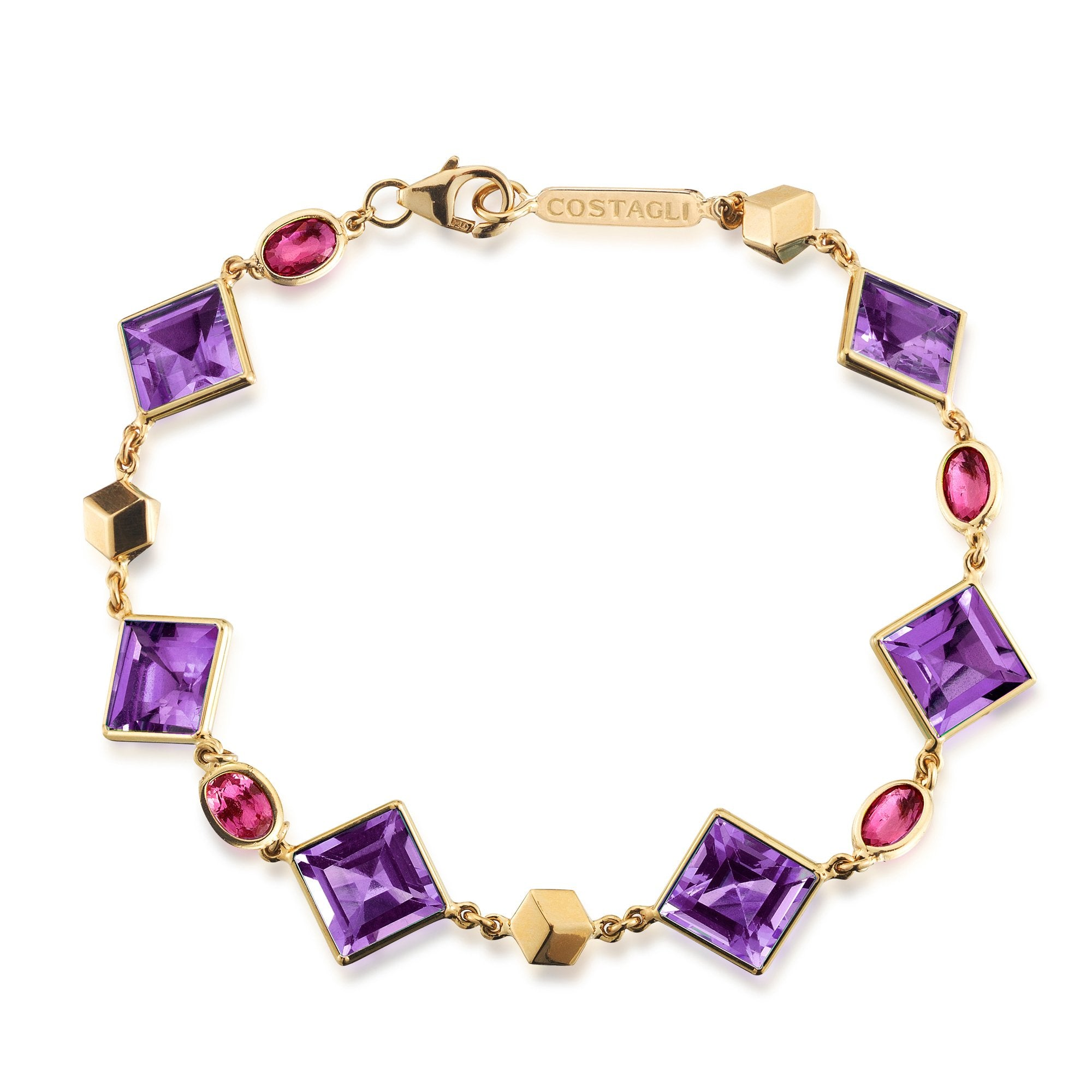 Amethyst and Ruby 'Florentine' Bracelet - Paolo Costagli - 1