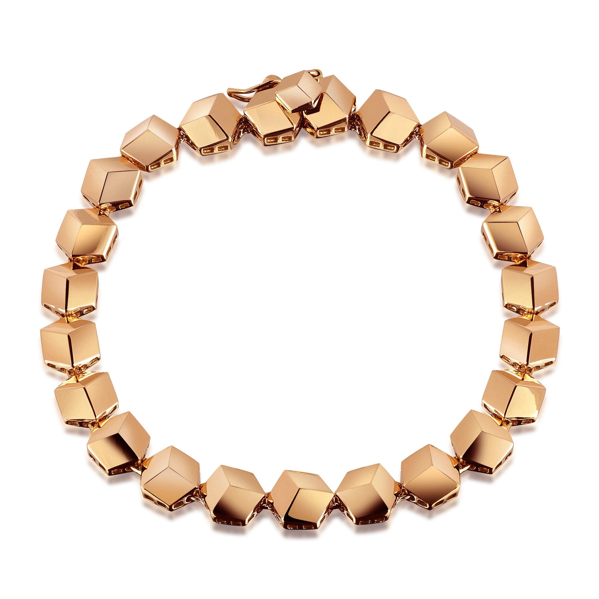 Rose Gold 'Brillante®' Bracelet, Petite - Paolo Costagli - 1