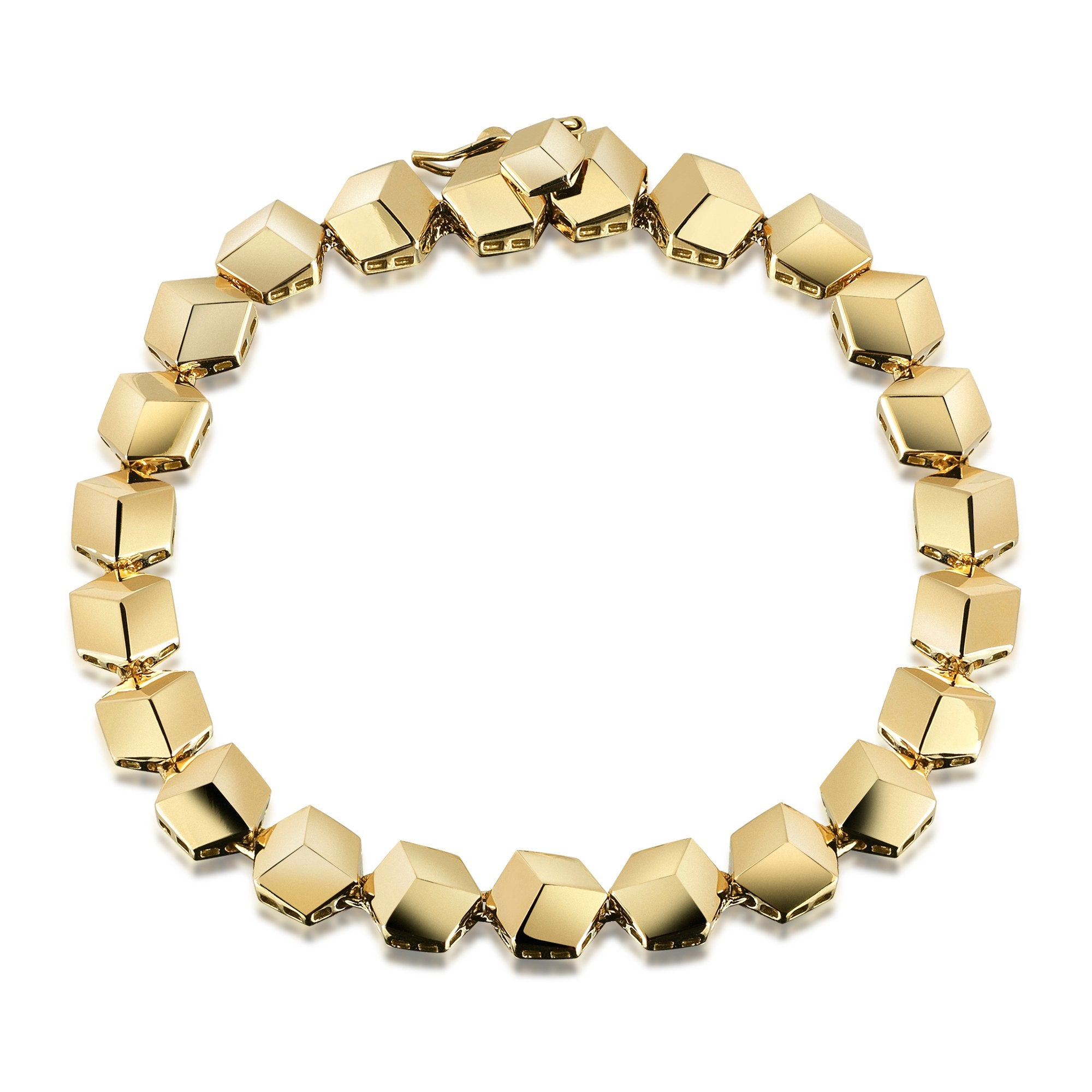 Yellow Gold 'Brillante®' Bracelet, Petite - Paolo Costagli - 1