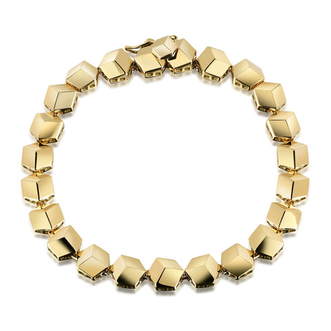 18kt Yellow Gold Brillante® Bracelet Petite - Paolo Costagli